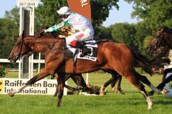 Egertonův syn Love Me vítězí ve Slovenském derby